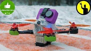 ✔ Vlog 1. FPV Drone Winter Training 2016! Зимняя Тренировка Air's Crew Team)