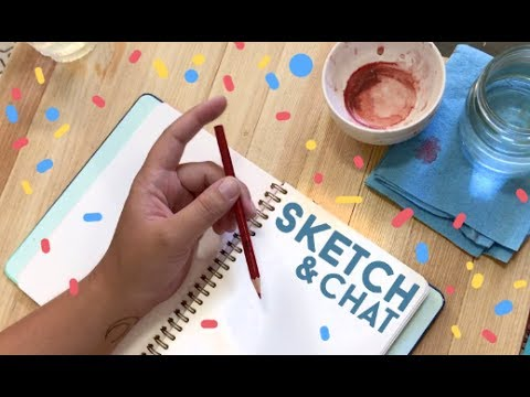 Sketch And Chat 2 // Jacquelindeleon