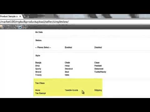 Magento Marketplace - Bulk upload demo video for simple product - ModuleBazaar