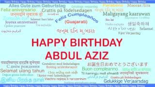 AbdulAziz   Languages Idiomas - Happy Birthday