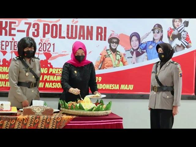 TASYAKURAN HARI JADI POLWAN 73 POLRES REMBANG 1 SEPTEMBER 2021