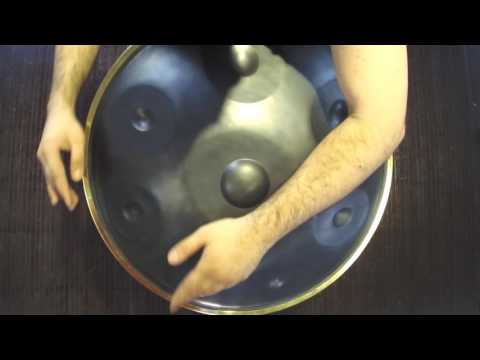 Zambelli Handpan scale: D MINOR played by Carmine D'Ambrosio