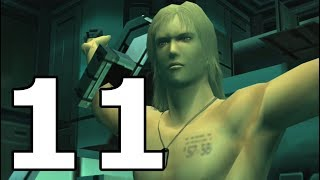 Metal Gear Solid 2 Sons of Liberty Walkthrough Part 11 - No Commentary Playthrough (PS3)
