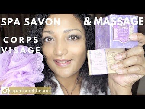 Spa savon traitement roleplay! ASMR Salon soin visage corps douche & massage