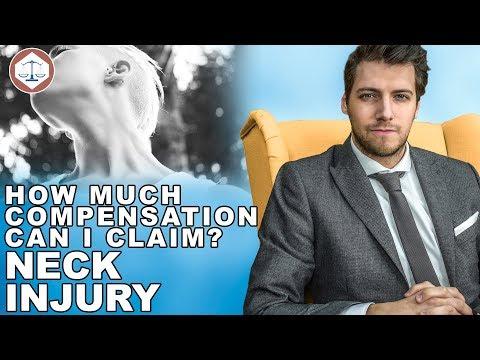 Neck Injury Compensation Claims Amounts? ( 2019 )