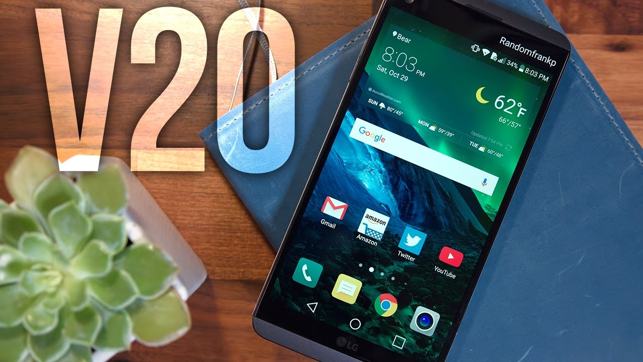 Lg V20 Review Top 5 Fav Features Youtube