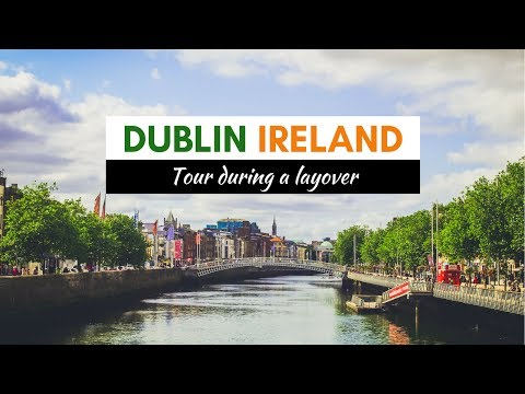 Dublin Ireland Layover City Tour (St. Stephen's Green, Trinity College, Grafton Street, and more)