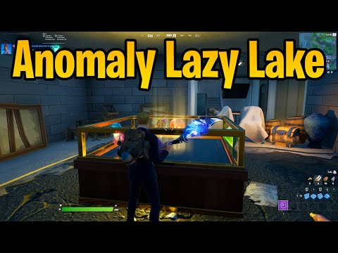 Investigate an anomaly detected in Lazy Lake - Fortnite Challenge Guide