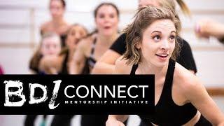 Choreographic mentorship with Broadway pros