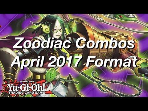 Yu-Gi-Oh! Zoodiac Combos April 2017 Format!