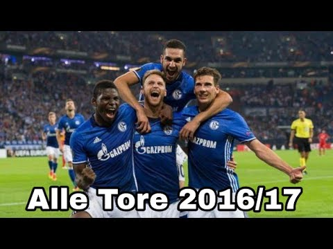 FC Schalke 04 – Alle Tore 2016/17 ᴴᴰ