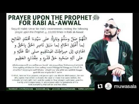 Sholawat Yang Dianjurkan Habib Umar Bin Hafidz Di Bulan Maulid 1437 H