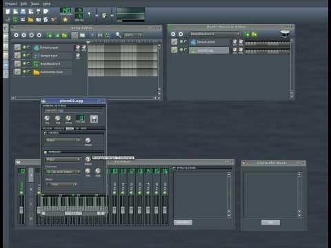 Linux Multi Media Studio - LMMS Part #2