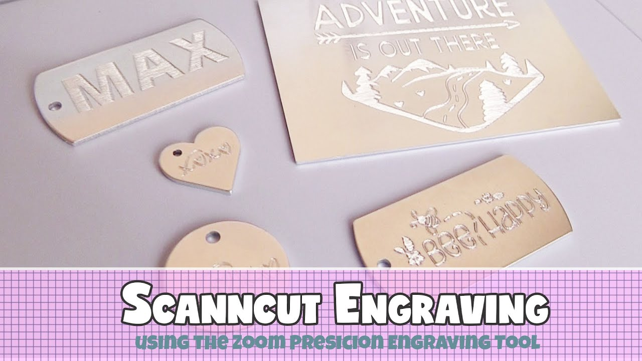 FEATURED POST: Brother ScanNCut Metal Engraving Tutorial by Alanda Craft