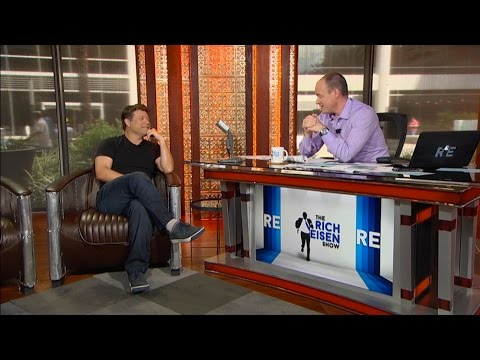 Actor Sean Astin Joins The RE Show in Studio - 9/3/15