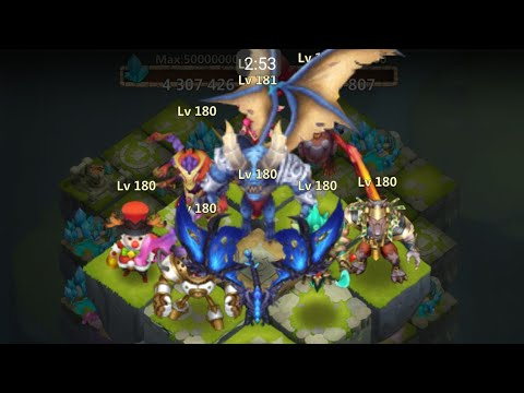 Castle Clash IGG - Lost Realm Demons Everywhere 16.1.20 Day 1