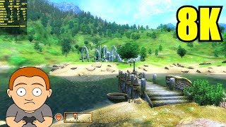 The Elder Scrolls Oblivion 8K Resolution GTX 1080 TI Frame Rate Performance Test
