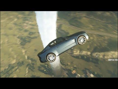 Just Cause 4 PC - Bentley Continental -  Drifting Through Tornado (MAX Settings)
