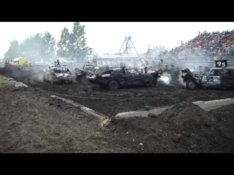 McLeod County Demolition Derby Old Iron Aug. 17,2014