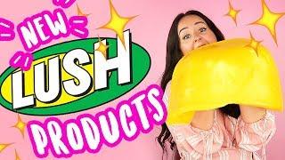 NEW Lush Products Haul! | by tashaleelyn
