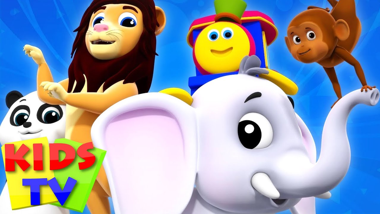 Download Going To The Zoo | Bob The Train | Video For Children | Kindergarten Nursery Rhymes For Babies
