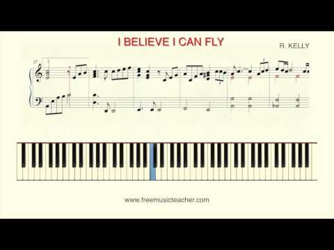 """how-to-play-piano:-""""i-believe-i-can-fly""""by-r.-kelly"""