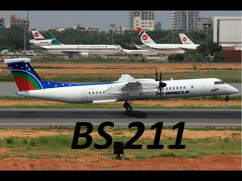 US Bangla Airlines BS211 landing approach at Kathmandu Airport (Same flight as the crashed one)