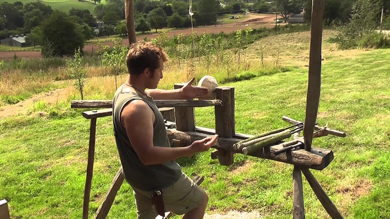 How to turn a bowl on the pole lathe with Ben Orford (Part ...