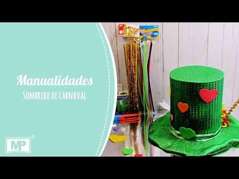 Como hacer un sombrero al estilo del Sombrerero Loco. - YouTube a2f37b926da