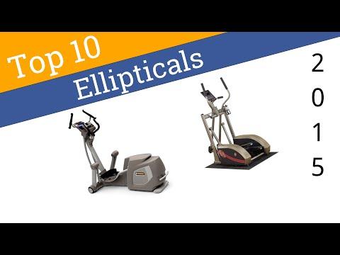 best elliptical machine 2015