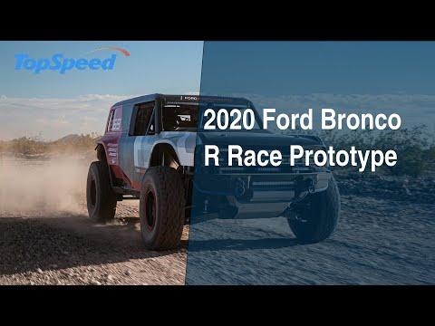 2020 Ford Bronco R Race Prototype