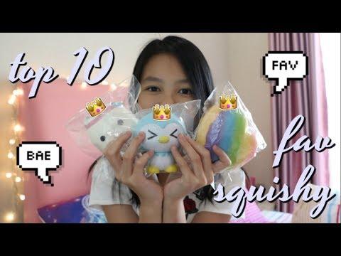 Top 10 Favorite Squishy! (Indonesia) | Calista G