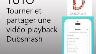 Dubsmash : enregistrer une vidéo et la partager sur Facebook, Whatsapp, ...