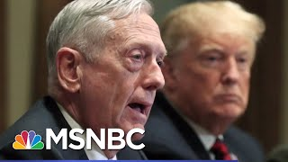 Atlantic: Mattis Found Trump To Be Of Limited Cognitive Ability, Dubious Behavior | Hardball | MSNBC