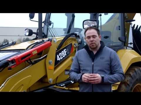 Cat® 428F2 Backhoe Loader Overview (Africa/Middle East)