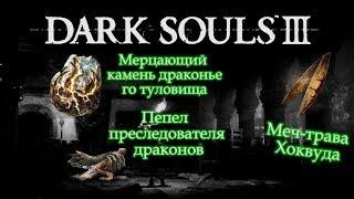 ПЕПЕЛ ПРЕСЛЕДОВАТЕЛЯ ДРАКОНОВ/МЕЧ-ТРАВА ХОКВУДА/МЕРЦАЮЩИЙ КАМЕНЬ ДРАКОНЬЕГО ТУЛОВИЩА [Dark Souls 3]