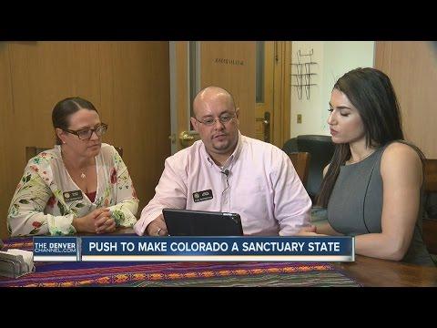 Colorado representative wants to make it a 'sanctuary state'