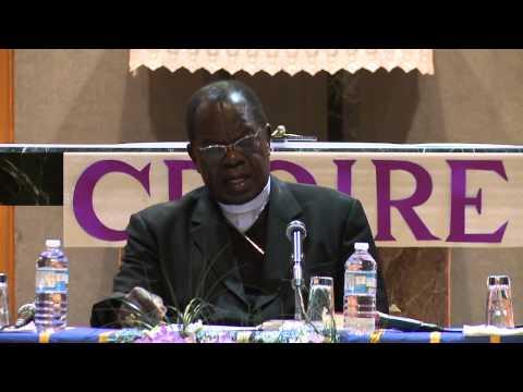 Mission Notre-Dame-d'Afrique à Montréal - Cardinal Laurent Monsengwo