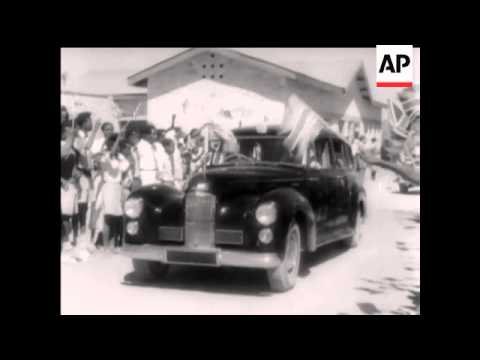 Somaliland Tour - 1958
