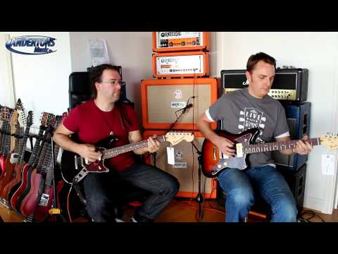 Fender American Special Jazzmaster & Mustang Guitars