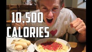 "ErikTheElectric Vs ""The Endless Pasta Bowl"" | 10,500 CALORIES"