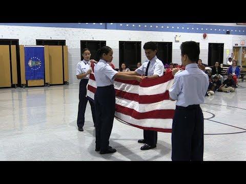 Carson School Veterans Day Salute