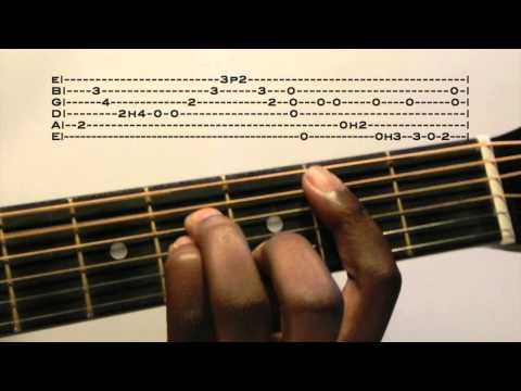 Too Close Guitar Lesson With Tab