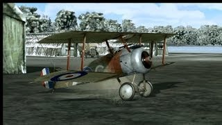 (PC) Rise Of Flight: Tour of the Sopwith Camel.