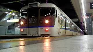 JR西日本 115系R-02編成 広島発車