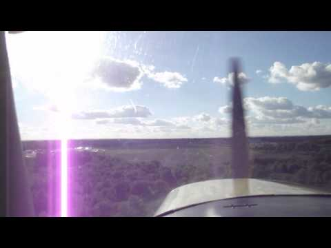Landing at Blackbushe Airport