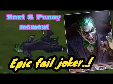AOV Best and Funny moment !!! joker fail. lol moment !!