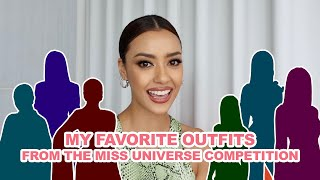 My favorite outfits from the Miss Universe competition - Amanda Obdam