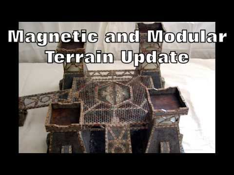 Imperial Guard Magnetized and Modular Landing Platform / Fortification - Part 4