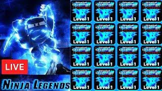 🎅🎄 X-GENESIS PETS | NEW UPDATE Ninja Legends + GIVEAWAYS  ROBLOX LIVE STREAM (14 Jan 2020)